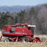 Bob Luther Combining in Richfield