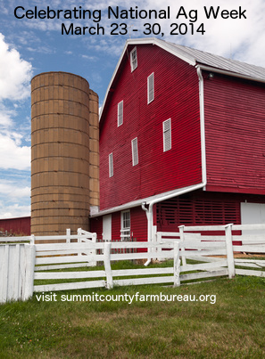 Summit County Farm Bureau Celebrates National Ag Week 2014