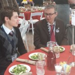 SCFB President Pete Schanz and his grandson attended annual Ag Day at the Capitol
